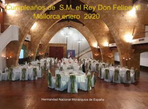 Lee más sobre el artículo CUMPLEAÑOS DE SM EL REY D. FELIPE VI- ENERO 2020