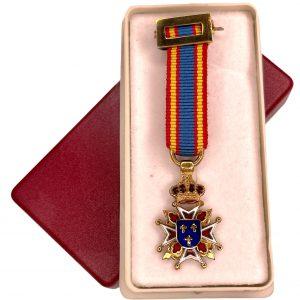 Medalla Miniatura de Caballero