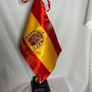 Bandera de sobremesa bordada