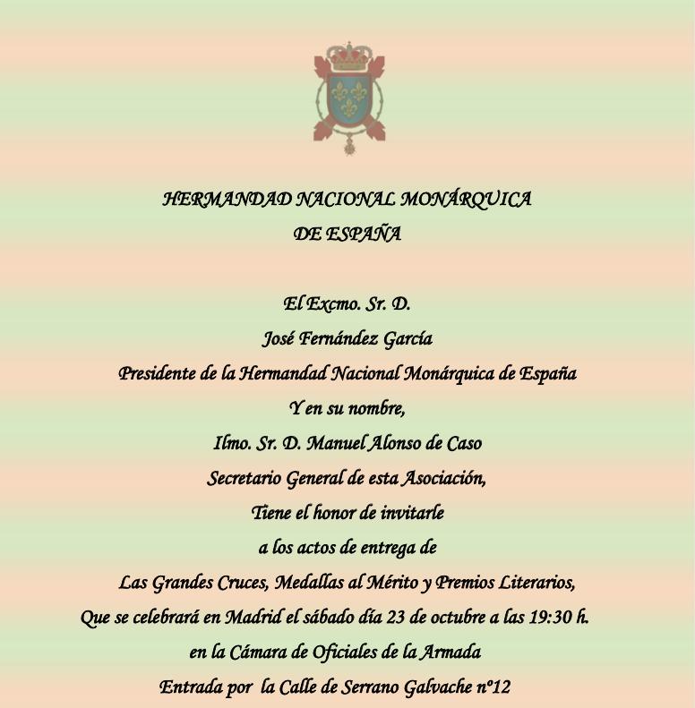 En este momento estás viendo El próximo 23 de octubre de 2021, entrega de las Grandes Cruces,  Medallas al Mérito y premios de Poesía y Narrativa Rey Felipe VI (pospuestos por la pandemia)