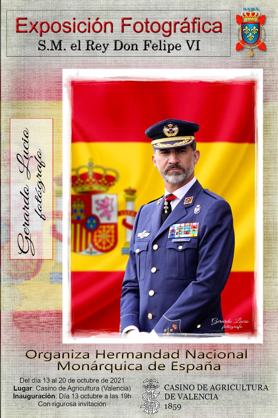 En este momento estás viendo La exposición de fotografías de SM el Rey D. Felipe llega a  Valencia